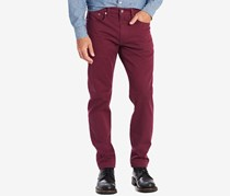 Levi's Men's 502 Regular Taper Soft Twill Jeans, Merlot