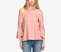 Jessica Simpson Pauline Off-The-Shoulder Top, Dusty Pink