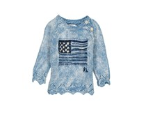 Ralph Lauren Toddlers Girls Long Sleeve, Indigo