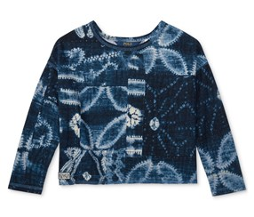 Ralph Lauren Girl's Top, Navy Blue