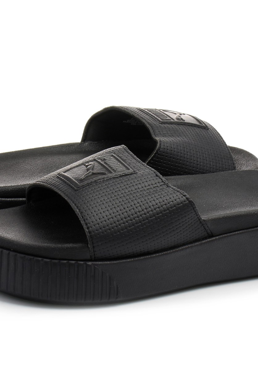 Women's Platform Slide EP, Black