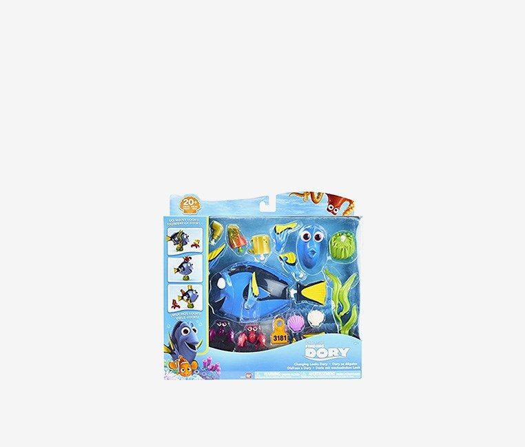 Finding Dory Dory Changing Looks Playset, Blue