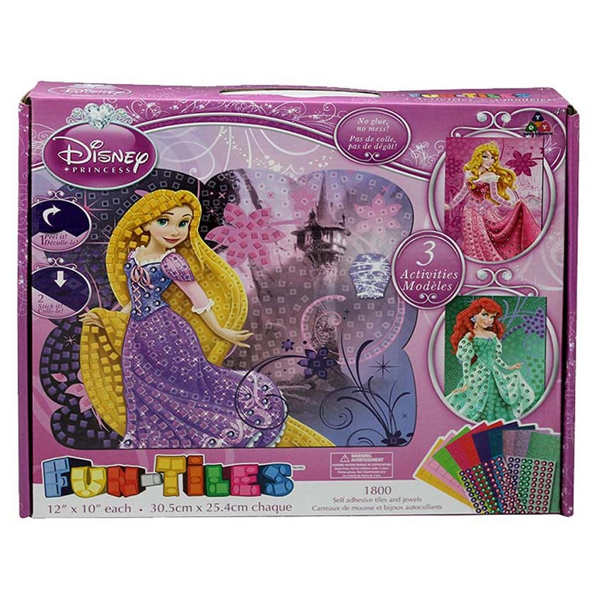 Princesses Activity Kit, Pink