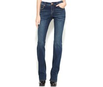 INC International Concepts Bootcut Jeans, Percy Wash