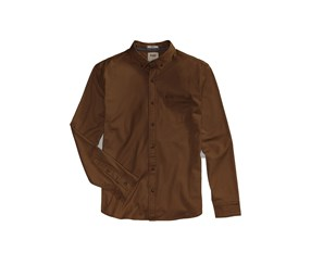 Levis Mens Webb Stretch Shirt, Compost Brown