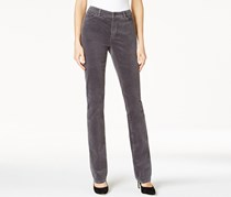 Charter Club Women's Petite Lexington Corduroy Pants, Grey