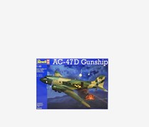 Revell AC-47D Gunship Aircraft Model Kit, Blue Combo