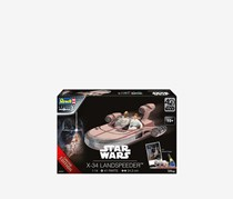 Revell Star Wars X-34 Landspeeder Model Kit, Black Combo