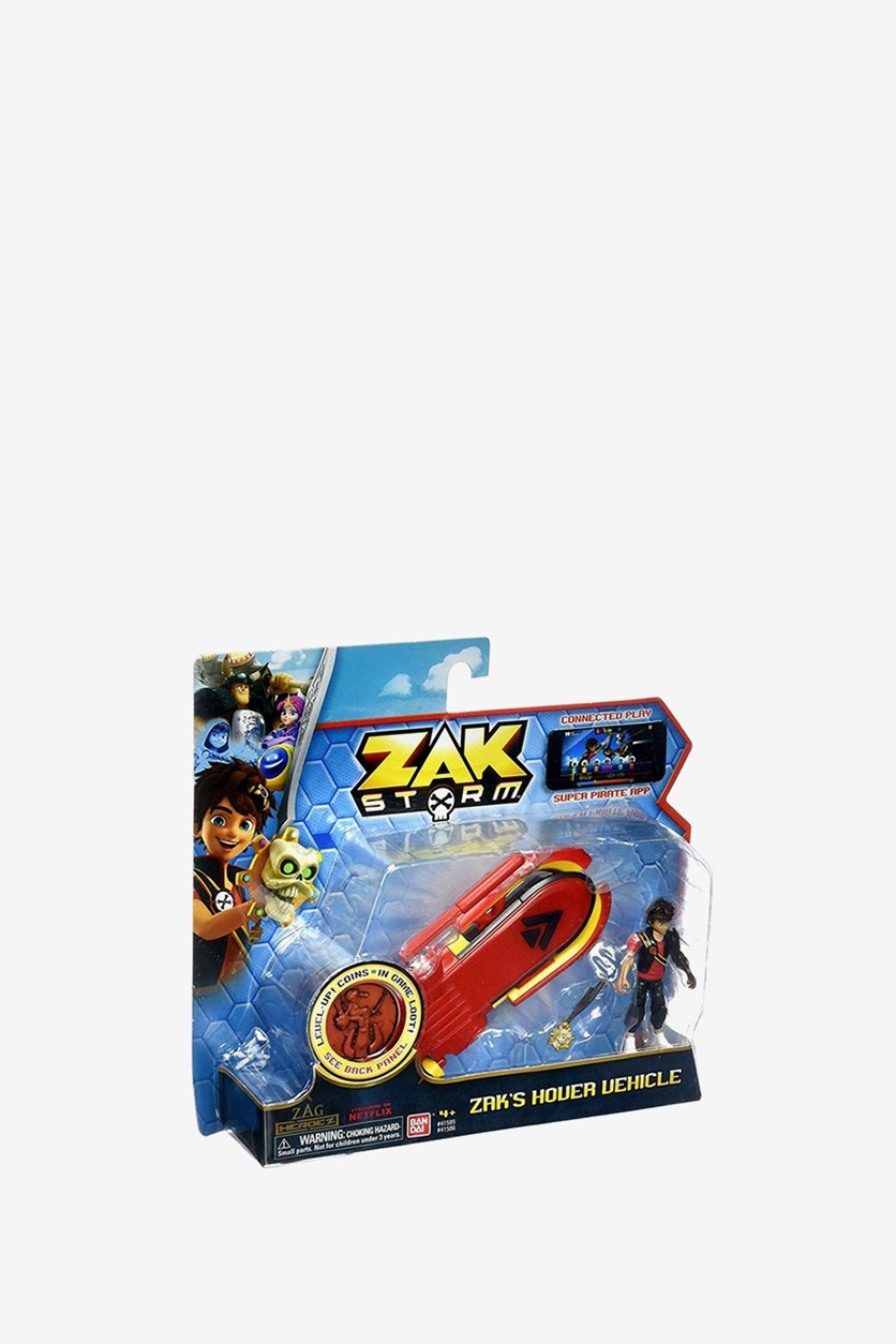 Zak Storm: Zak's Hover Vehicle, Red