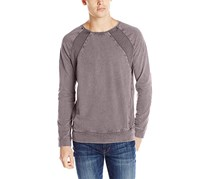 Calvin Klien Men's Crewneck Cotton Sweatshirt, Gray