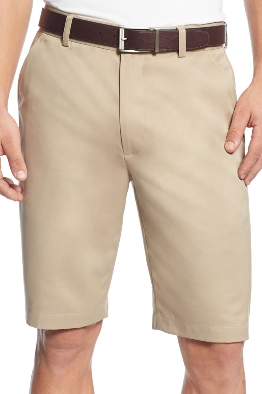 Golf Shorts, Washed Khaki