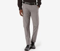 Dockers Men's Alpha Slim-Fit Stretch Twill Pants, Grey