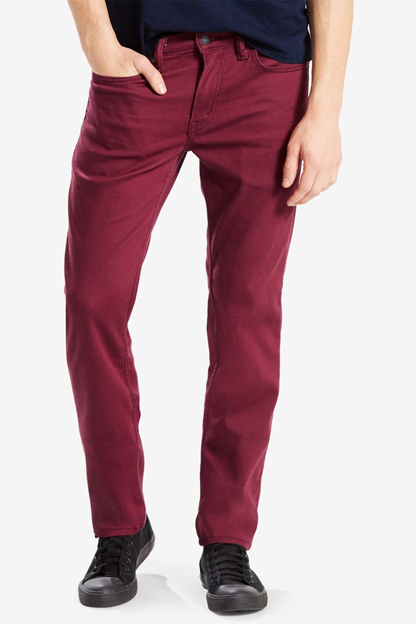Levis 511 Slim Fit Jeans, Brushed Burgundy