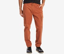 Levis Mens Slim-Fit Tapered Cargo Pants, Rust Copper