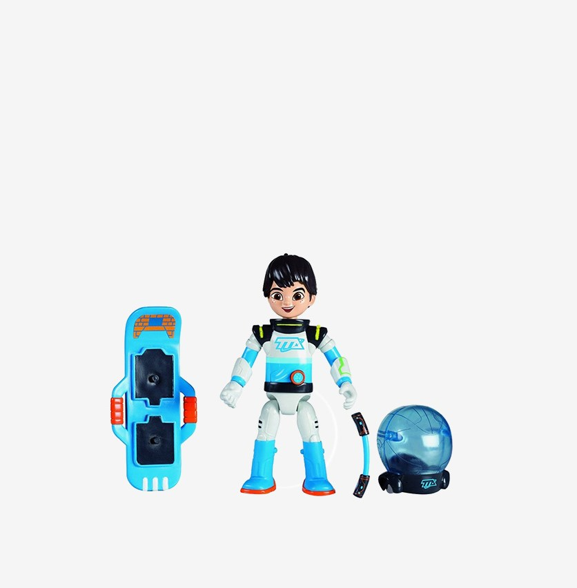 Miles From Tomorrowland Deluxe Action Figure, Blue/White