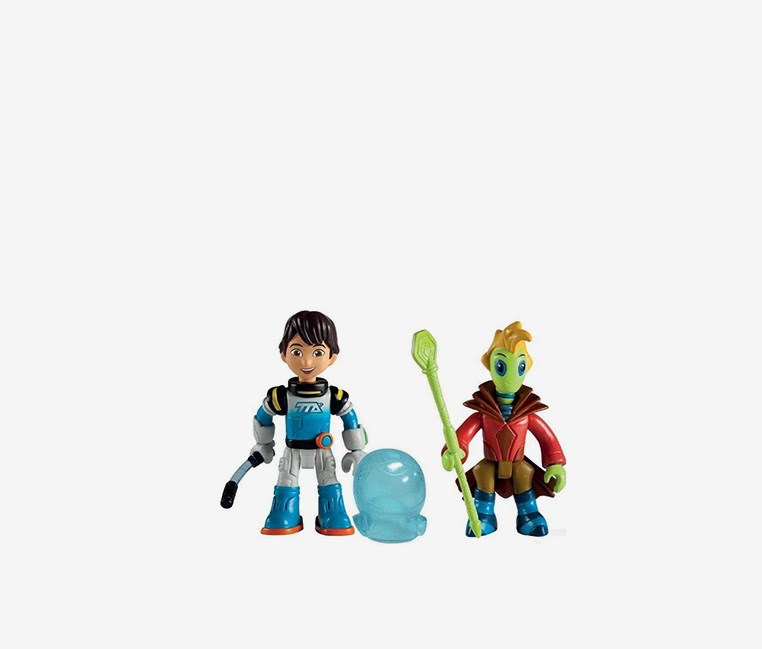 Disney's Miles From Tomorrow  Miles & Rygan Action Figure, Combo