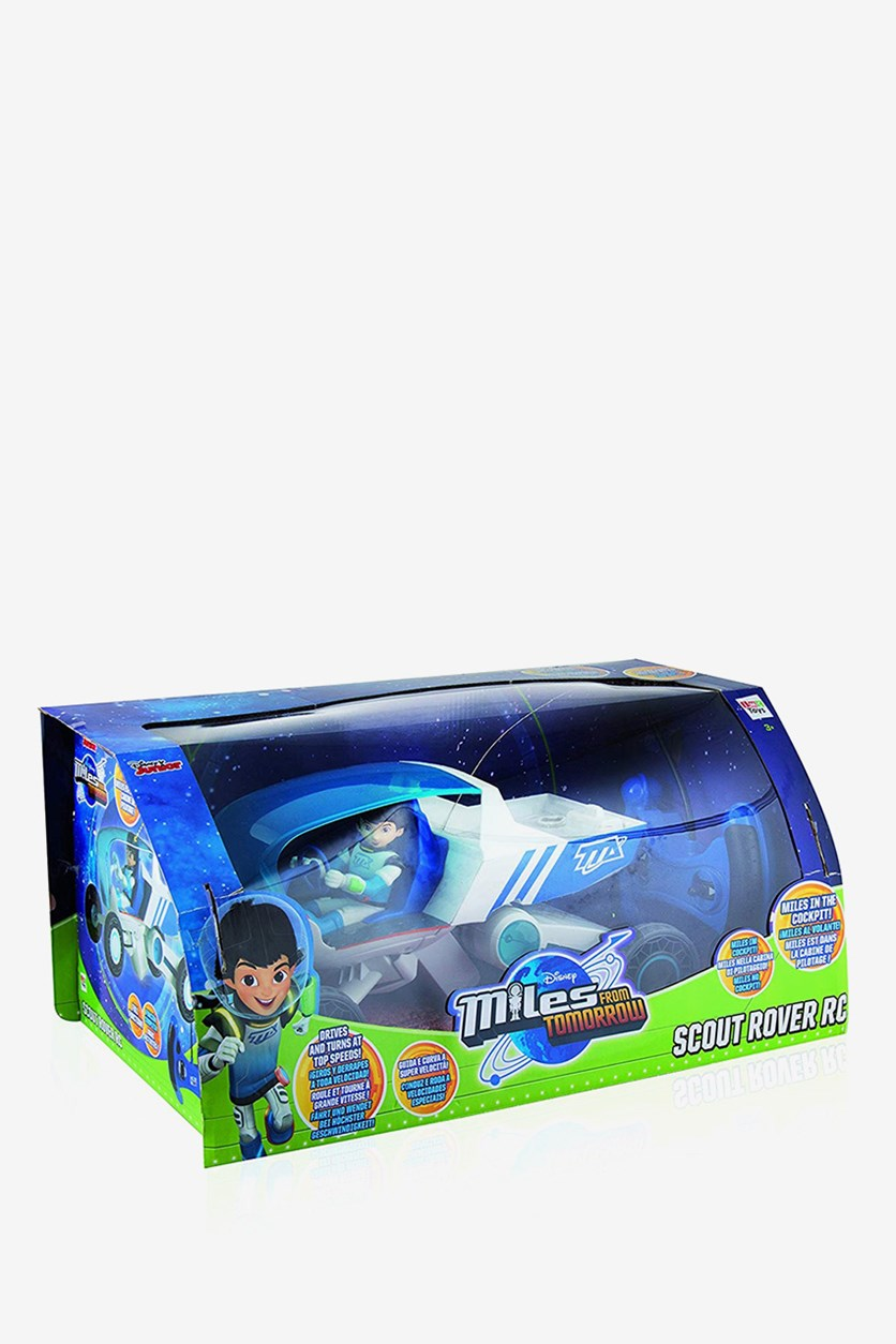 Miles RC Rover Vehicle, Blue/White