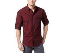 INC International Concepts Core Topper Shirt, Tango Red