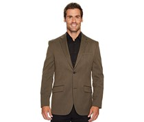 Men's Long Sleeve Solid Blazer, Light Brown