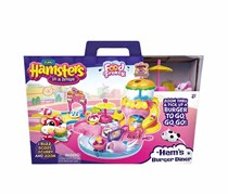 Zuru Hamsters In A House-Hams Burger Playset