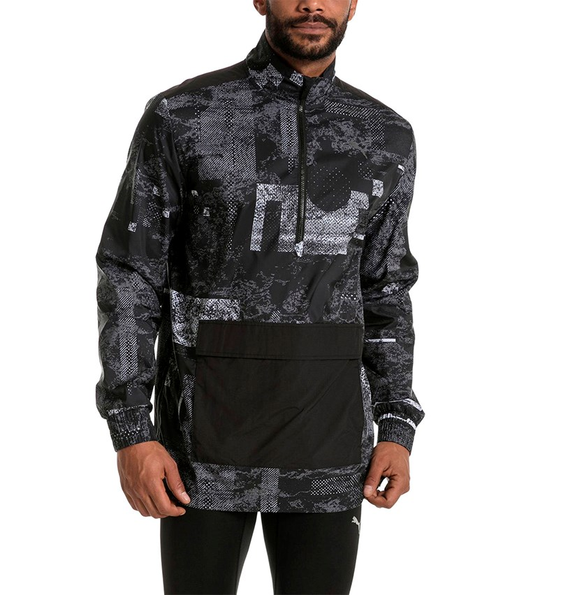 Energy Windbreaker, Black