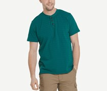 G.h. Bass & Co. Men's Jack Mountain Textured Henley, Quetzal Green