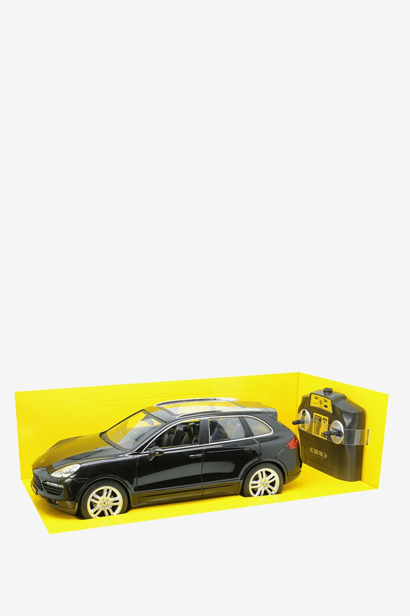 Porsche Cayenne Scale 1:14 Remote Control Car, Black