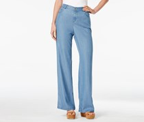 Style & Co. River Wash Wide-Leg Jeans, River Wash
