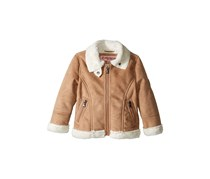 Urban Republic Ultra Suede Faux Shearling Jacket, Tan