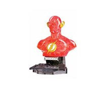 DC Universe 3D Puzzle The Flash Crystal, Red Orange