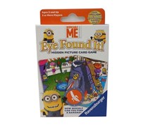 Despicable Me Eye Found It Hidden Picture Card Game, White/Blue Combo
