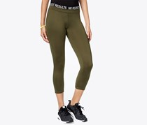 Energie Juniors Poppy Cropped Legging, Olive