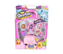 Shopkins 5 Pack Season 4, Violet Combo