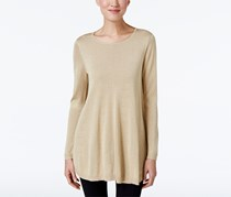 Alfani Women's Metallic Sweater, Gold