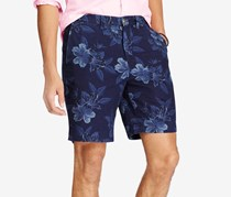 Ralph Lauren Men's Classic Fit Chambray Shorts, Navy