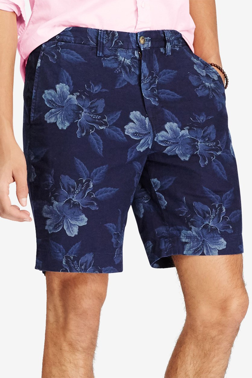 Men's Classic Fit Chambray Shorts, Navy