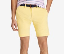 Men's Stretch Slim-Fit Chino Shorts, Oasis Yellow
