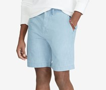 Polo Ralph Lauren Men's Big & Tall Classic Fit Chambray Short, Blue