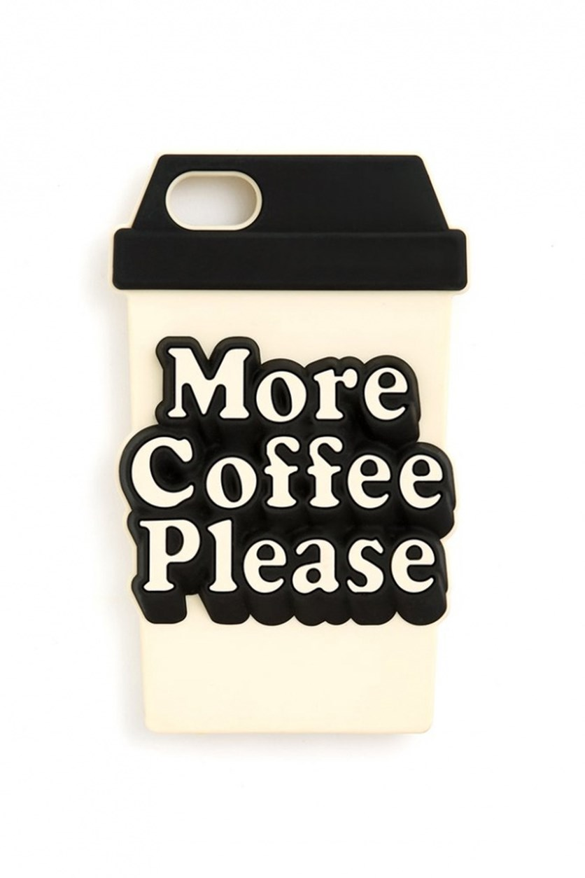 More Coffee Please iPhone 7 & 8 Case, Beige