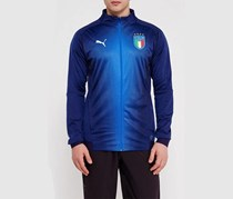 Puma FIGC Italia Stadium Jacket, Peacoat/Team Power Blue