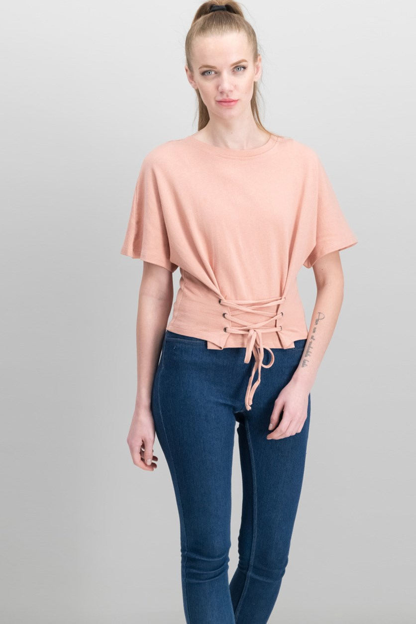 Women's Plain Tops, Blush