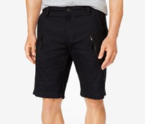 Inc Men's Davidson Cargo Shorts, Black