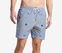 Tommy Hilfiger Men's Brack Swim Trunks, Blue