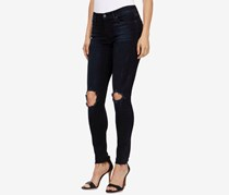 Lucky Brand Brooke Distressed Jeggings, Cactus Flats
