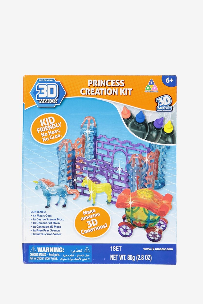 3D Maker Princess Creation Kit Expansion Set, Blue/Purple