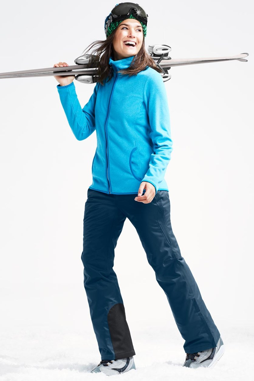 Women's Sportive Ski Pants, Blue