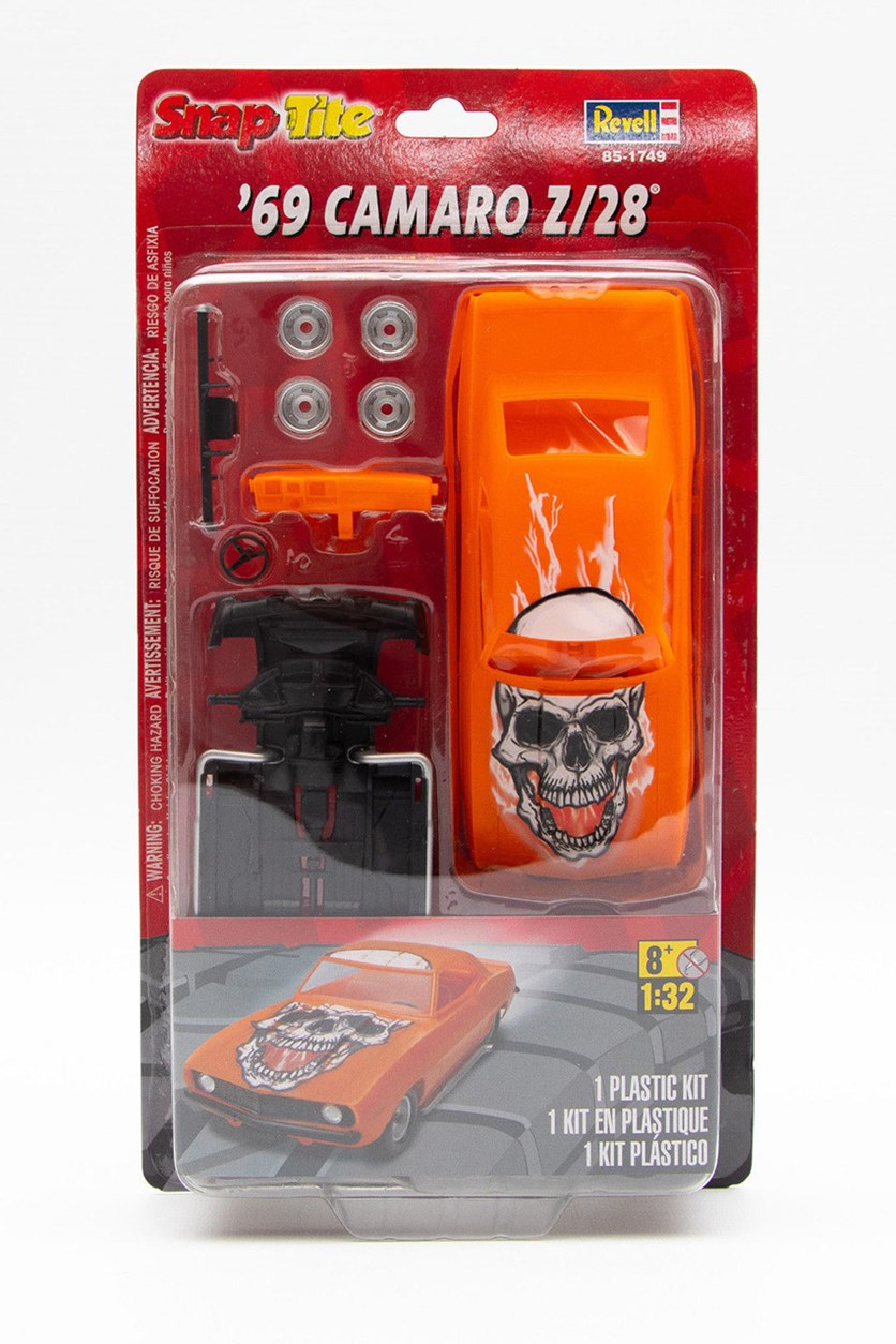 Snap Tite 69 Camaro Z/28 Model Kit, Orange