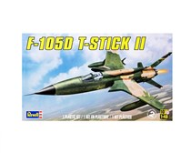 Revell F-105D T-Stick II Model Kit, Green