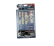 Revell Snap Tite Star Wars Lux Skywalker's X-Wing Fighter, Ivory