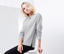 Women Sweater Sequins, Grey